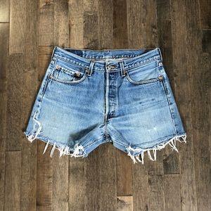 Levi's Shorts - Vintage custom Levi's 501 cut off jean shorts!!!